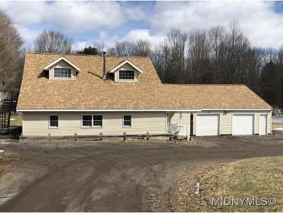Oneida County Single Family Home For Sale: 3039 McConnellesville Road
