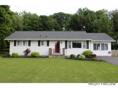 UTICA Single Family Home For Sale: 1426 Hillside