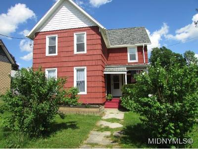 Herkimer County Single Family Home For Sale: 172 Taylor