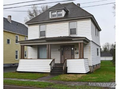 Herkimer County Single Family Home For Sale: 511 Steuben Road