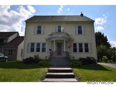 Oneida County Single Family Home For Sale: 4 Ferris Ave