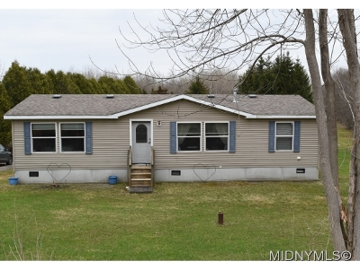 Herkimer County Single Family Home For Sale: 1820 Albany Road