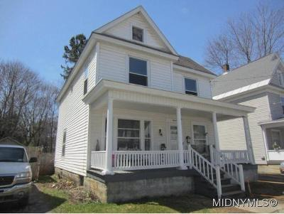Herkimer County Single Family Home For Sale: 16 Philip St