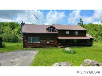Herkimer County Single Family Home For Sale: 1055 Dairy Hill Rd