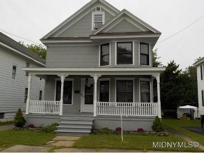 Herkimer County Single Family Home For Sale: 309 Gray St