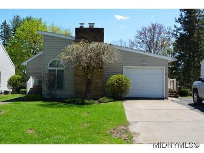Whitesboro Single Family Home For Sale: 91 Clinton Street