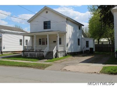 Herkimer County Single Family Home For Sale: 6 Michigan Street