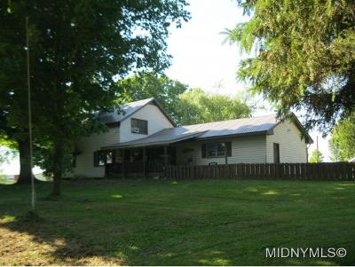Ava Single Family Home For Sale: 9772 Beartown Rd