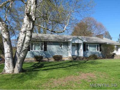 Herkimer County Single Family Home For Sale: 708 Westwood Drive