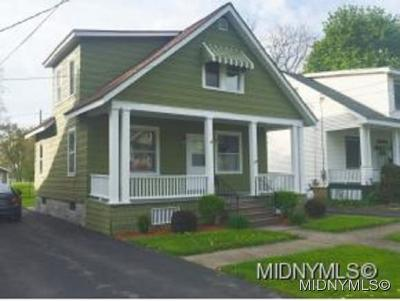 Utica Single Family Home For Sale: 2118 Sunset Ave