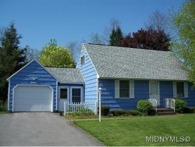 New Hartford NY Single Family Home For Sale: $129,900