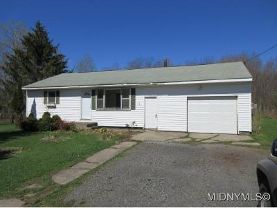 Holland Patent Single Family Home For Sale: 8643 Soule Road