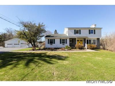 New Hartford Single Family Home For Sale: 9326 Mallory Road