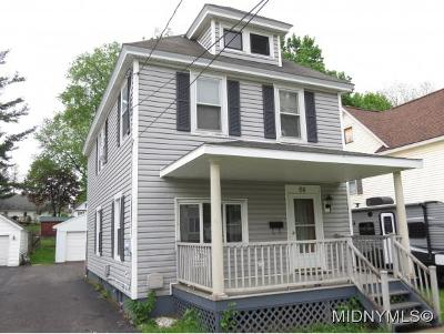 Herkimer County Single Family Home For Sale: 66 S. Fourth Ave.