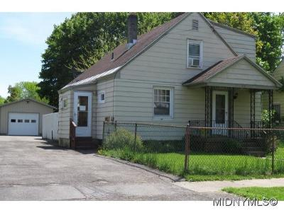Rome NY Single Family Home For Sale: $59,000