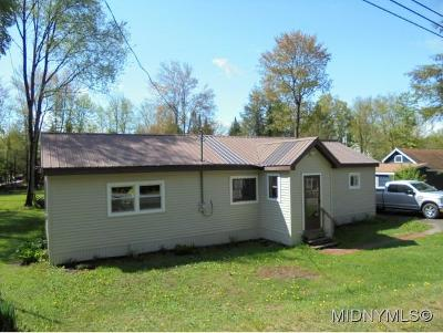 Forestport NY Single Family Home For Sale: $139,900