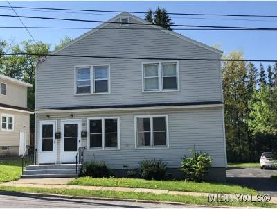 New York Mills Multi Family Home For Sale: 62 Burrstone Rd.