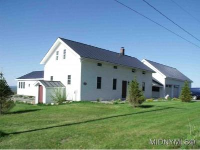 Herkimer County Single Family Home For Sale: 1702 Dairy Hill Road