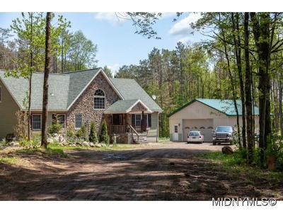 Herkimer County Single Family Home For Sale: 278 Peck Road