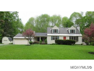 Herkimer County Single Family Home For Sale: 6084 Military Road