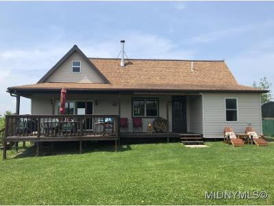 Herkimer County Single Family Home For Sale: 1398 Newport-Gray Road