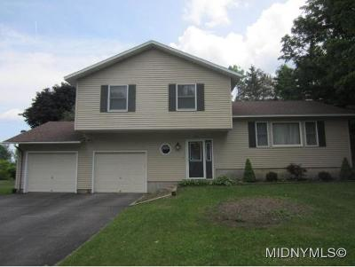 Herkimer, Ilion, Little Falls, Mohawk, Schuyler Single Family Home For Sale: 1710 Barringer Rd