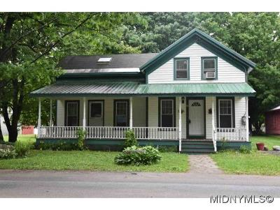 Herkimer County Single Family Home For Sale: 24 Mill Street