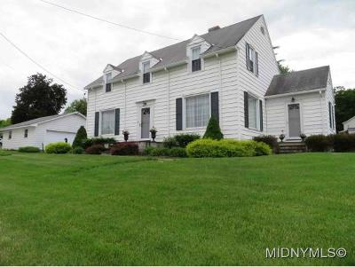 Madison County Single Family Home For Sale: 2023 Route 8