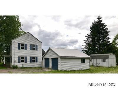Herkimer County Single Family Home For Sale: 135 Elizabethtown Rd