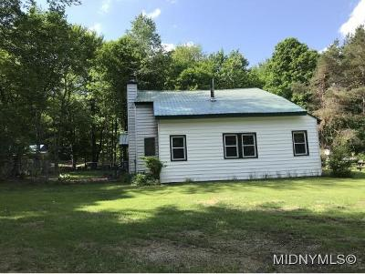 Remsen NY Single Family Home For Sale: $69,900