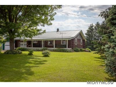 Herkimer County Single Family Home For Sale: 605 State Route 170a
