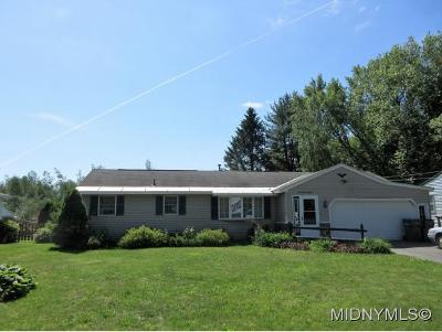 Rome Single Family Home For Sale: 7718 Gifford Rd