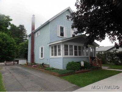 Herkimer County Single Family Home For Sale: 41 Shull Street