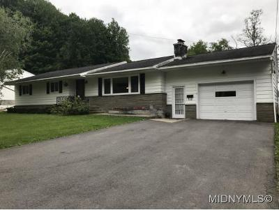 Herkimer County Single Family Home For Sale: 6 Burns Ave