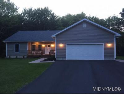 Oneida County Single Family Home For Sale: 6587 Stage Road