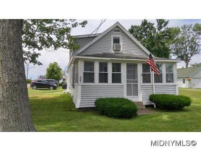Sylvan Beach Single Family Home For Sale: 2301 Main St