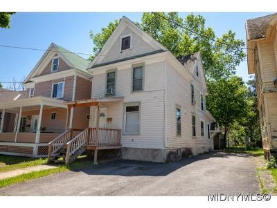 Herkimer County Single Family Home For Sale: 9 James Street