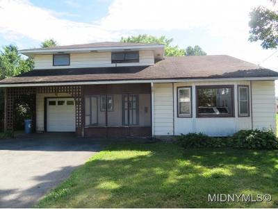 New York Mills Single Family Home For Sale: 31 Walcott Street