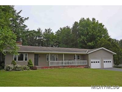 Marcy Single Family Home For Sale: 10325 Adirondack View