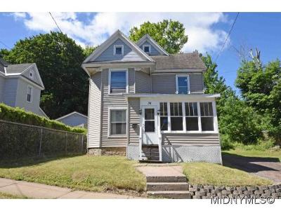 Herkimer County Single Family Home For Sale: 36 Highland Avenue