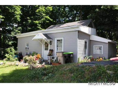 Herkimer County Single Family Home For Sale: 3 Bellevue