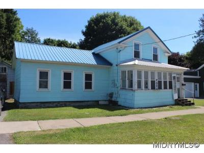 Herkimer County Single Family Home For Sale: 90 W Clark St