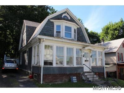Herkimer County Single Family Home For Sale: 16 McCann Street
