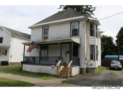 Herkimer County Single Family Home For Sale: 4 Michigan Street