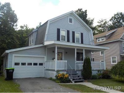 Herkimer County Single Family Home For Sale: 250 S 4th Ave