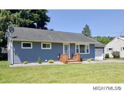 Rome Single Family Home For Sale: 8097 Buena Vista Drive