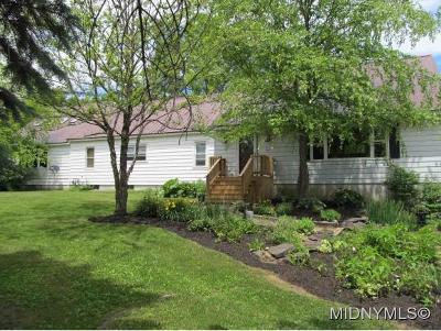 Herkimer, Ilion, Little Falls, Mohawk, Schuyler Single Family Home For Sale: 891 McKennan Road