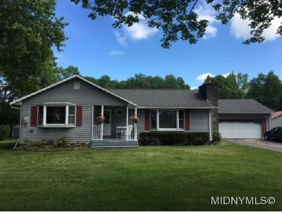 Rome Single Family Home For Sale: 7164 Stearns Rd