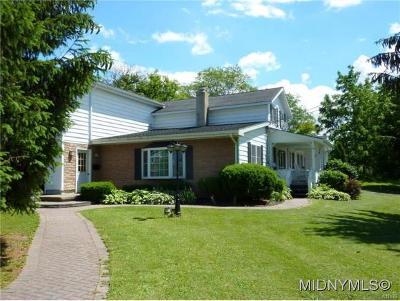Sherrill Single Family Home For Sale: 122 Betsinger