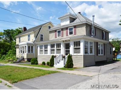 Herkimer County Single Family Home For Sale: 136 W. Clark Street